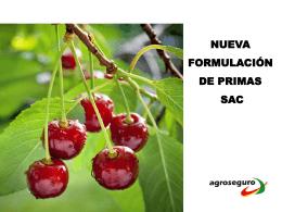 FRACCIONAMIENTO DE PAGO SEGUROS AGRICOLAS