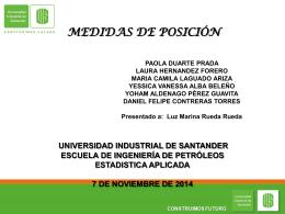 4-Medidas de posición - Universidad Industrial de Santander