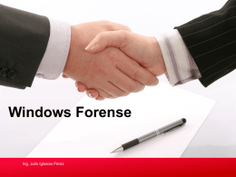Windows Forense - Technet Gallery