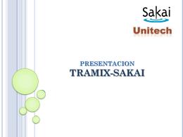 herramientas - TramixSakai ULP