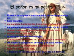 El-Señor-es-mi-Pastor - Centro Concertado Juan XXIII Cartuja