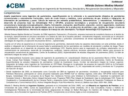 CV Mileida Medina