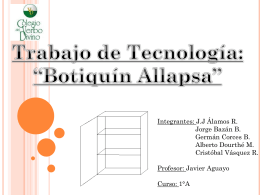 Power Point 1. - ¡Bienvenidos a Botiquin Allapsa!