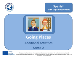 Activity 2.1 - Going Places with Languages in Europe