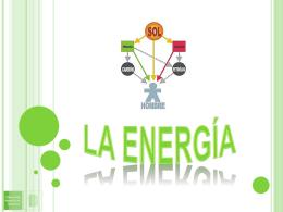 ENERGIA Y CALOR