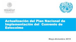 Contexto y objetivos - Programa Nacional de Implementación CE