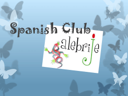 Spanish Club Mayo 9 Slidesnew