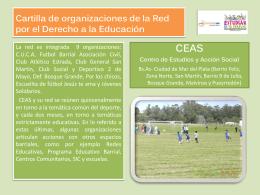Cartilla CEAS - Fundación SES