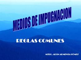 REGLAS COMUNES - Tribunal Estatal Electoral
