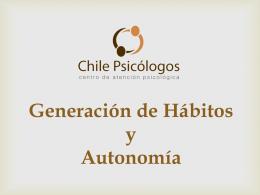 habitos_autonom - Colegio Parroquial Santa Marta