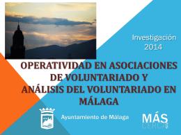 Análisis del Voluntariado en Málaga