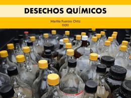 3. Desechos Químicos