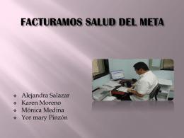 FACTURACION EN LA SALUD DEL META