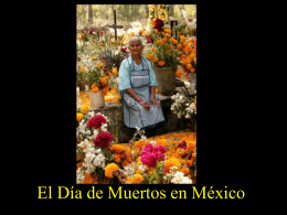 Los Dias de Muertos en Mexico