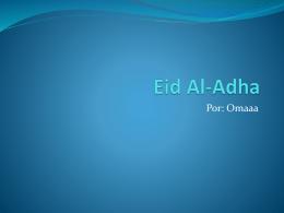 Eid Al-Adha comparar con el día de los muertos