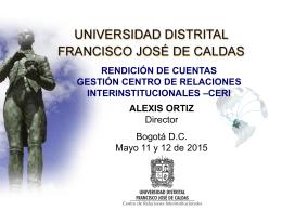 ceri ud rendición de cuentas 11-05-2015