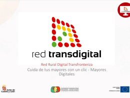 Mayores Digitales - Red Rural Digital Transfronteriza