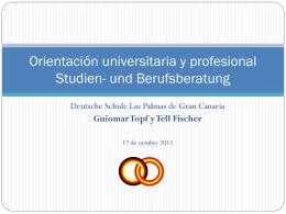 Folie 1 - Deutsche Schule Las Palmas de Gran Canaria