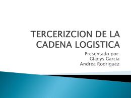 niveles de tercerizacion en la cadena logistica