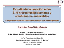Estudio_de_la_reacci.. - Facultad de Ciencias
