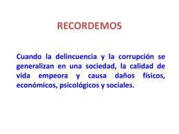 Delincuencia y corrupción2