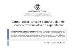 Ejercicio - Universidad de Colima
