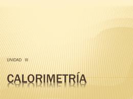 CalorimetriaA - fisica-ggm