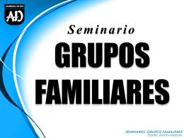 Grupos familiares - Embajadores de Cristo
