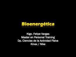 bioenergtica