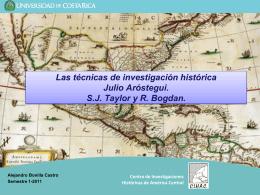 Centro de Investigaciones Históricas de América Central Las