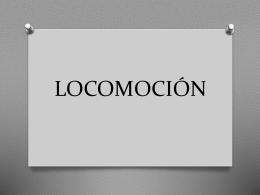 LOCOMOCIÓN I.