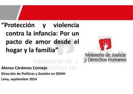 Protección y violencia contra la infancia_Por un pacto de amor