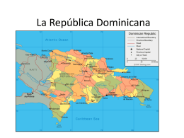 La República Dominicana 1