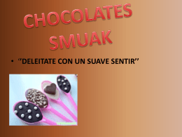 CHOCOLATES SMUAK - belloespecialistagutierrez