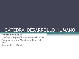 CÁTEDRA DESARROLLO HUMANO.