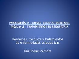 TRATAMIENTOS EN PSIQUIATRIA