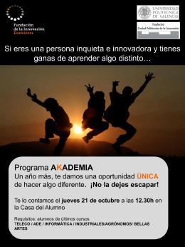 poster presentación curso UPV DEF