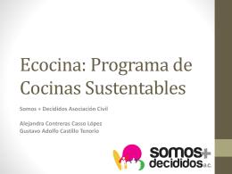 Ecocina - Juventud Actúa MX