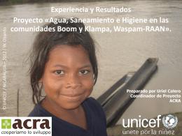 ACRA - Proyecto Bomm y Kambla