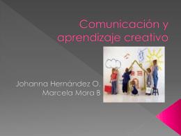 Comunicación y aprendizaje creativo - tecnologia