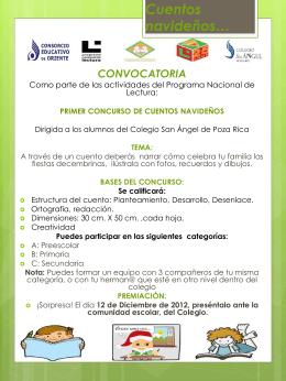 CONVOCATORIA PNL (1) - Colegio San Ángel de Poza Rica