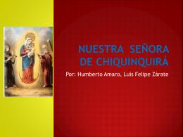 Nuestra Señora de chiquínquirá - 1c-copaamerica