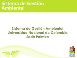Diapositiva 1 - Universidad Nacional de Colombia::Sede Palmira