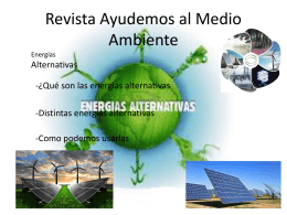 Revista Ayudemos al Medio Ambiente