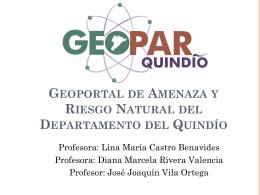 Geoportal de Amenaza y Riesgo Natural del Departamento del