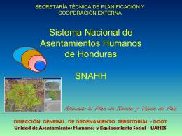 SNAHH Alineado 09Ago10 PtoCortes,Omoa, Pto Barrios ANED