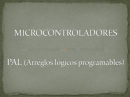 MICROCONTROLADORES Y PLA
