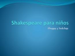 Shakespeare para niños - Sol y Flor