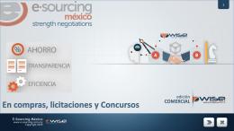 comercial - E-Sourcing México
