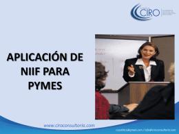 presentacion niif para pymes - diapositivas[...]